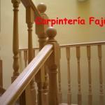 barandilla madera 7   Carpinteria Fajusa en Guadalajara