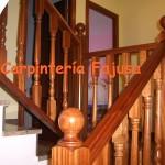barandilla madera 1   Carpinteria Fajusa en Guadalajara