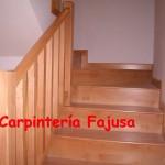 barandilla madera 5   Carpinteria Fajusa en Guadalajara
