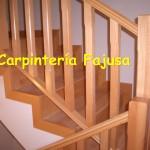 barandilla madera 3   Carpinteria Fajusa en Guadalajara