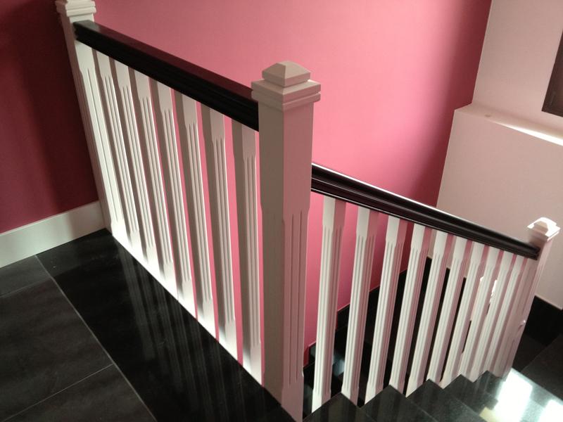 Barandillas y escaleras haya carpinteria guadalajara carpinter a fajusa - Escaleras y barandillas ...