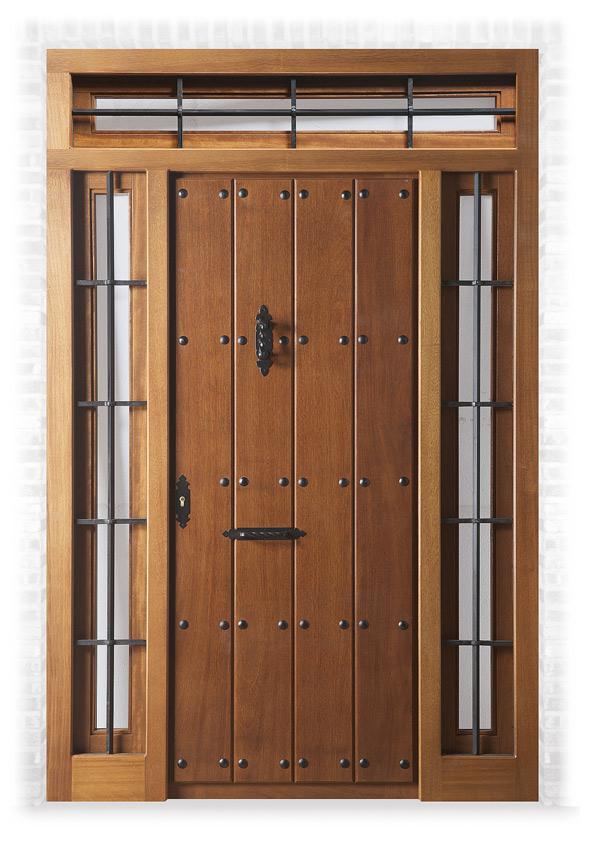 Puertas exterior r sticas y macizas carpinteria fajusa - Puertas rusticas de exterior ...