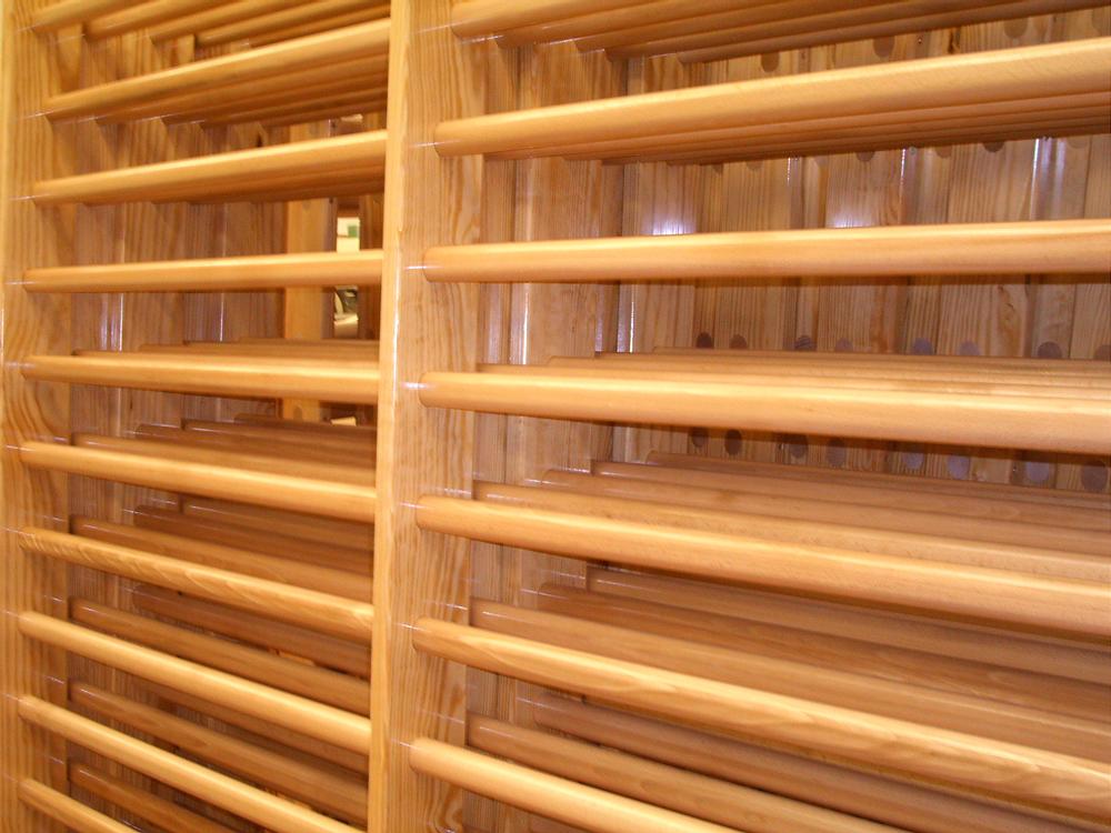 Espalderas y bancos carpinteria fajusa guadalajara for Madera para tejados de segunda mano