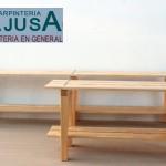 Bancos de Madera 1 | Carpinteria Fajusa en Guadalajara